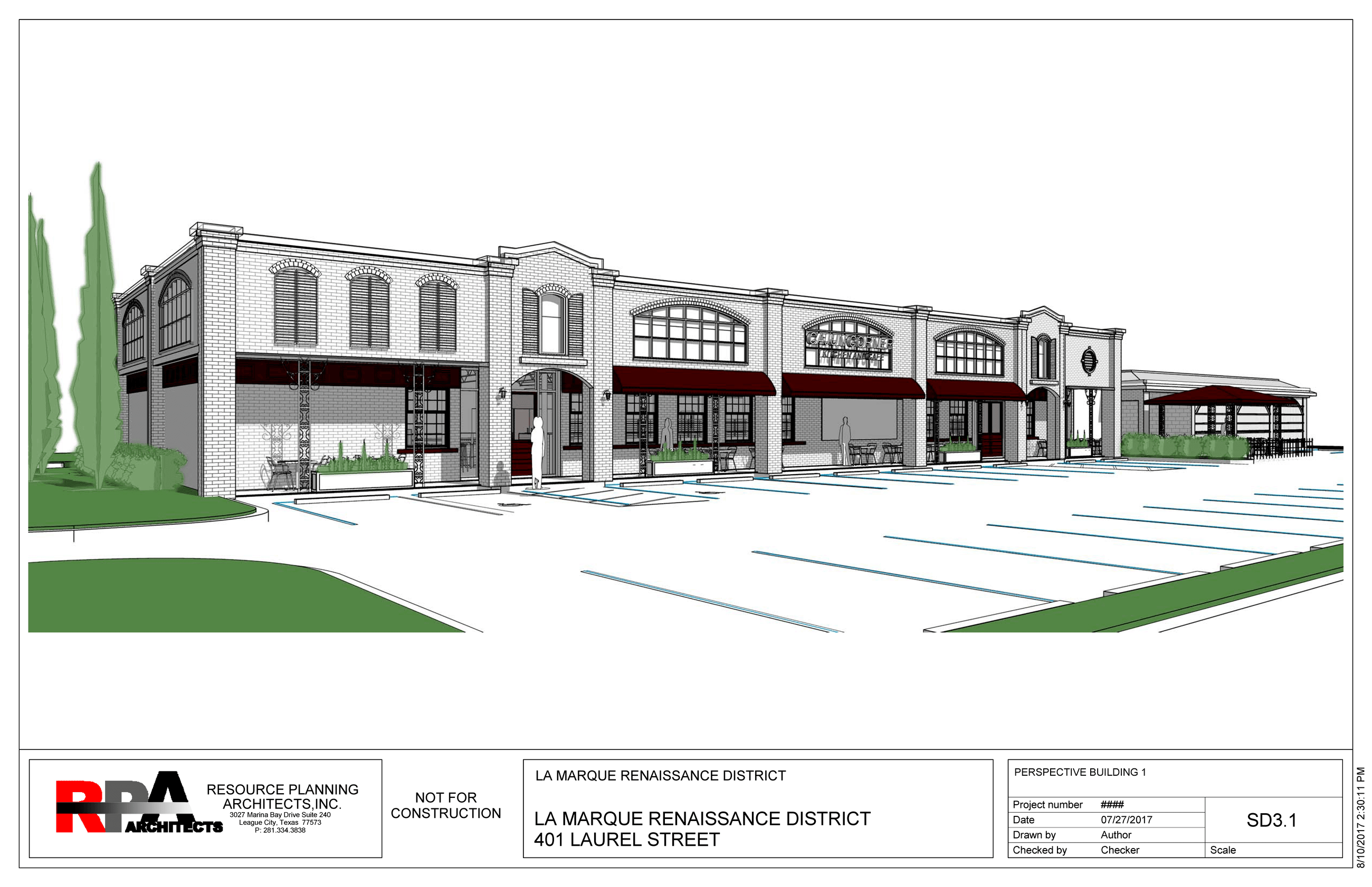 Rendering 401 Laurel