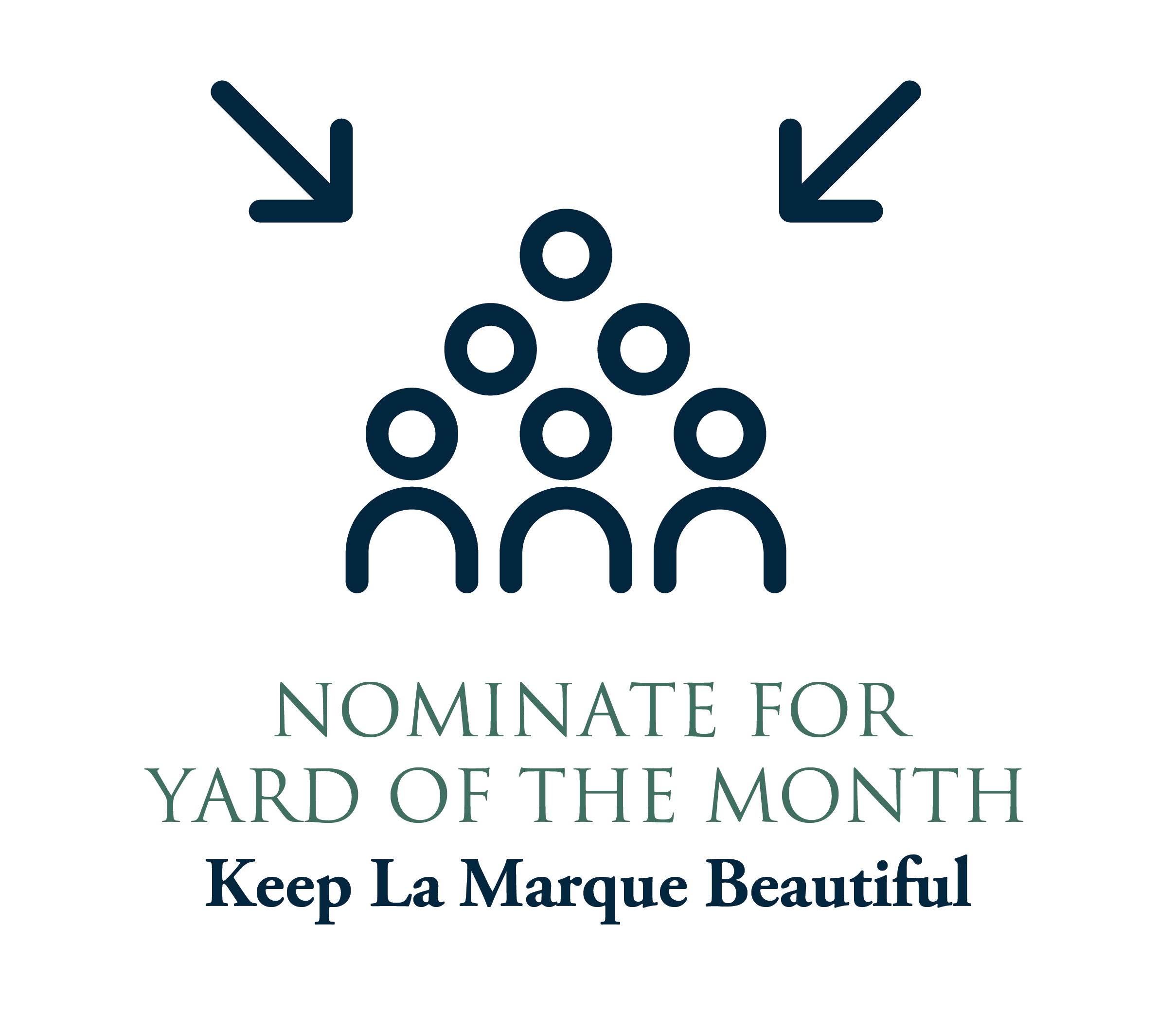 Nominate for Yard of the Month graphic