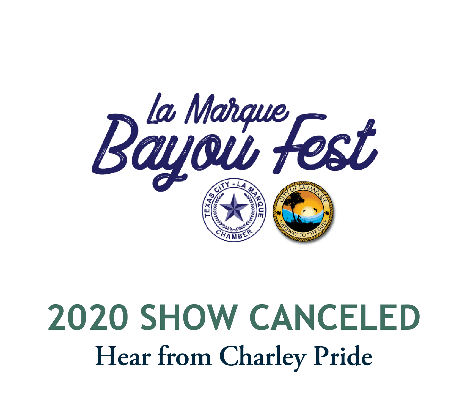 LMBF 2020 Canceled. Click for video message from Charley Pride.